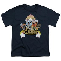 Amazing World Of Gumball - Elmore Junior High Short Sleeve Youth 18/1 Shirt Officially Licensed T-Shirt