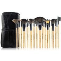 Beige 24-Piece Essential Brush Collection
