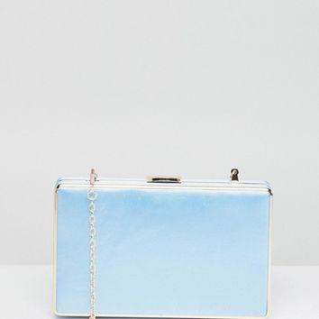 Chi Chi London Squared Clutch Bag at asos.com