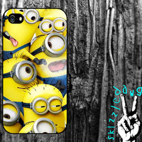 Despicable Me Minions Apple iPhone 4/4S and 5 Cell Phone Case Cover Original Trendy Stylish Design