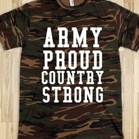 ARMY PROUD COUNTRY STRONG