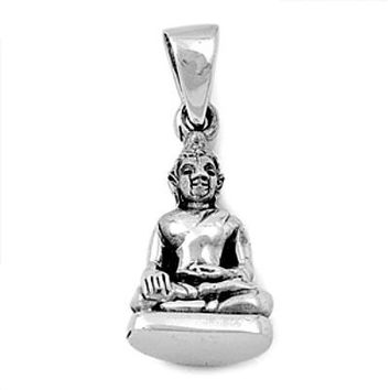 Sterling Silver Buddha Handcrafted pendant