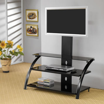 Coaster Fine Furniture Tv Console Black 700617
