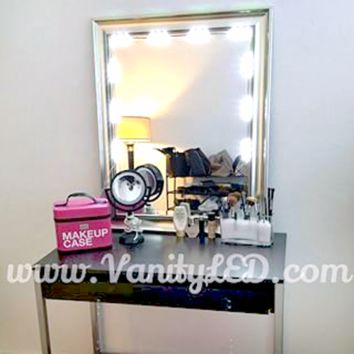 Lighted Makeup 5ft Vanity LED Kit with Dimmer