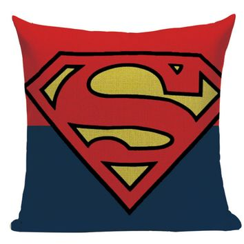 Superman Symbol Pillow SH1