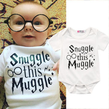 Choice of Snuggle This Muggle Onesuit Romper for Baby Boys or Girls