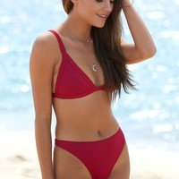 Somedays Lovin Burnt Ridge Triangle Bikini Top at PacSun.com
