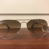 Cheap 100% Ray Ban RB 3025 001/51 Gold Frame Gradient Brown Lens- Authentic Ray Ban outlet