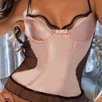 Jezebel Satin Doll Bustier (30805)