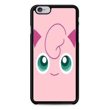 Jigglypuff Face Pokemon iPhone 6/6S Case