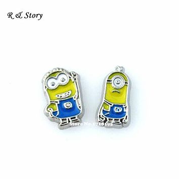 Minion Floating Charm Set ~ Despicable Me Charms LFC_1728