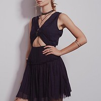 Free People Womens Gettin' Knotty Dress