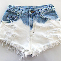The Classic Ombre Shorts from ShopWunderlust
