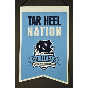 North Carolina Tar Heels NCAA Nations Banner (15x20)