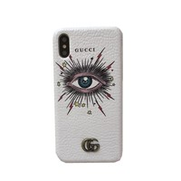GUCCI Eyes Case for iPhone XS Max/XR 7P 6S