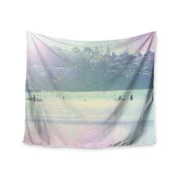"""Sylvia Coomes """"Rainbow 3"""" Multicolor Pastel Wall Tapestry"""