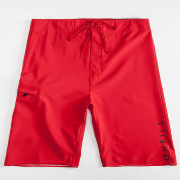 O'neill Santa Cruz Stretch Mens Boardshorts Red  In Sizes