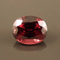 Rhodolite Garnet: 5.15ct Red Oval Shape Gemstone, Natural Hand Made Faceted Gem, Loose Precious Mineral, Cut Crystal Jewelry Supply 20280