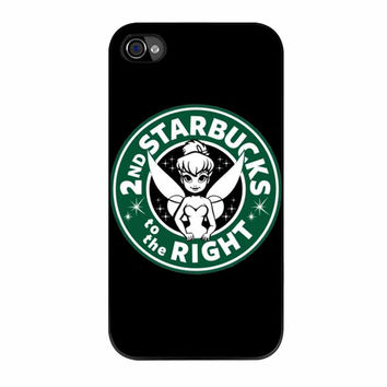 Starbucks To The Right iPhone 4 Case