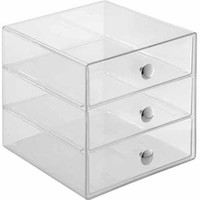 Walmart: InterDesign Cosmetic and Jewelry Storage Vanity 3-Drawer Organizers