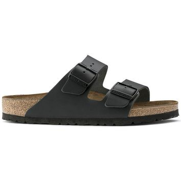 Birkenstock Arizona Natural Leather Black 0051191/0051193 Sandals - Ready Stock