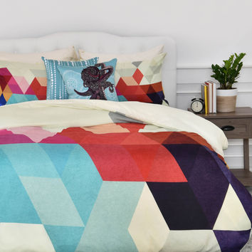 Three Of The Possessed Modele 7 Duvet Cover