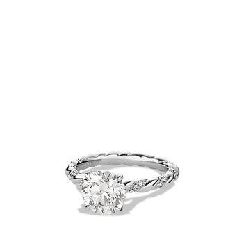 DY Unity Engagement Ring in Platinum