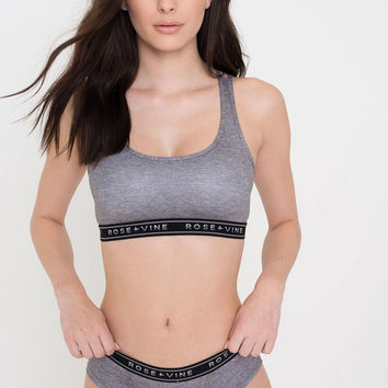 Softie Crop Top Bralette