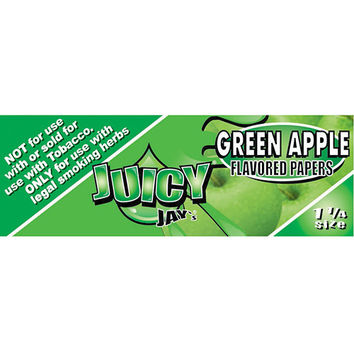 Juicy Jay's Rolling Papers - Green Apple