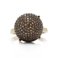 Pave Ball Ring | Moda Operandi