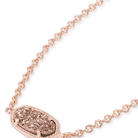 Kendra Scott Elaina Rose Gold Drusy Rose Gold Adjustable Bolo Bracelet