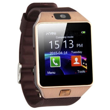 Universal Bluetooth Smart Watch Camera Suppor For Android and IOS - Free Shipping