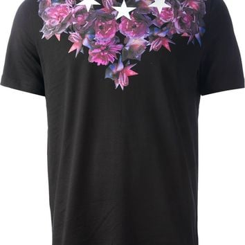 Givenchy Flower And Star Print T-Shirt