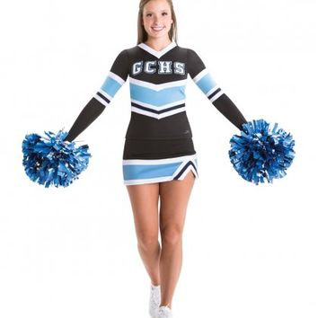 Home :: Cheer :: Cheer Uniforms :: Cheer Stretch Top and Cheer Skirt