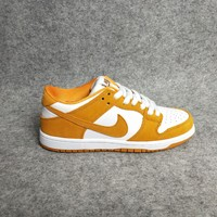 Nike SB ZOOM DUNK LOW PRO Circuit Orange Women/Men Sport Shoes Casual Sneakers