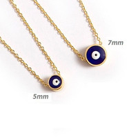 Evil Eye Necklace / Evil Eye Jewelry / Amulet / Gift for Friend / Turkish Nazar Necklace / Layering Jewelry / N108