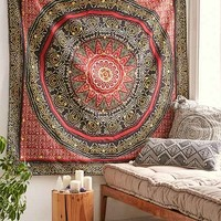 Magical Thinking Bandhani Medallion Tapestry
