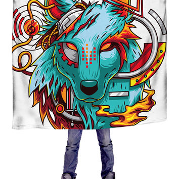 Digital Wolf Blanket
