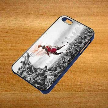 DCKL9 MICHAEL JORDAN new slam dunk Design For iPhone 4 / 4S Case *76*