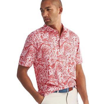 The Willis Printed Prep-Formance Jersey Polo by Johnnie-O