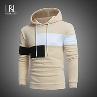 Men Slim Hoodie - Sweatshirt Coat Jacket - Winter Warm Outwear