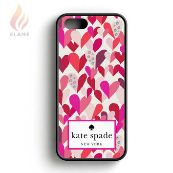 Kate Spade New York Confetti Hearts Multi Crystal Stones iPhone 5 Case iPhone 5s Case iPhone 5c Case
