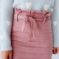 You Go Girl Skirt: Blush