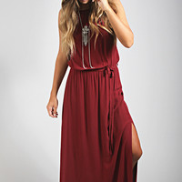 tie me a river maxi dress