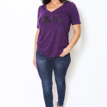 Y'all V-Neck Relaxed Tee