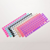 "Silicone Keyboard Skin Cover Case for Macbook Air Pro 13"" 15"" 17"" Inch"