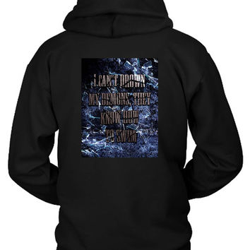 Bring Me To The Horizon Bmth I Can Not Drown My Demons Hoodie Two Sided