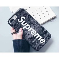 Supreme 2018 New Tide brand Fashion Colorful Beautiful iPhone 6/7/8/X Mobile Shell Cover 6