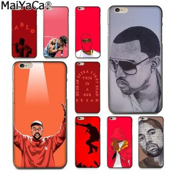 MaiYaCa Kanye Omari West Coque Amazing new arrival phone case cover for Apple iPhone 8 7 6 6S Plus X 5 5S SE XS XR XS MAX Cover
