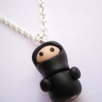 Ninja Necklace by Lilley on Etsy